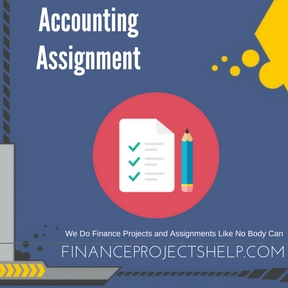 Accounting Assignment Writing Service
