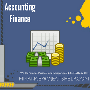 Accounting Finance Project Help