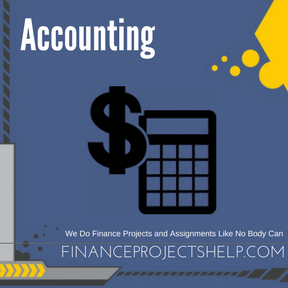 Accounting Project Help