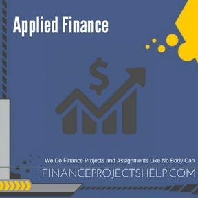 Applied Finance Project Help