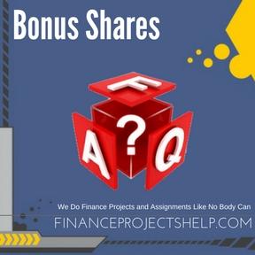 Bonus Shares Project Help