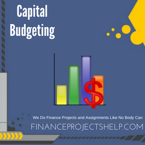 Capital Budgeting Project Help