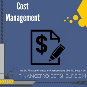 Cost Management Project Help