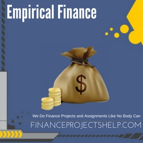 Empirical Finance Assignment Help