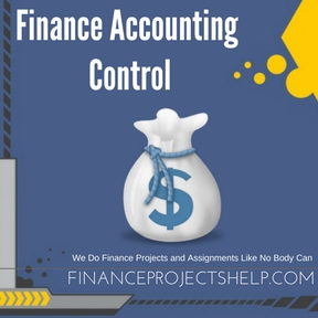 Finance Accounting Control Assignment Help