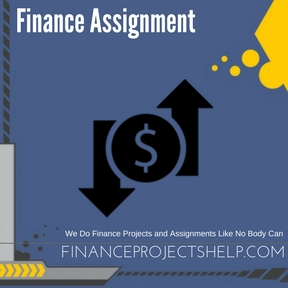 Finance Assignment Writing Service