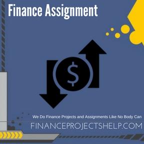 Finance Assignment Writing Service