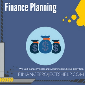 Finance Planning Assignment Help