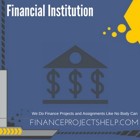 Financial Institution Assignment Help