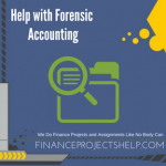 Help with Forensic Accounting