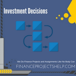 Investment Decisions Project Help