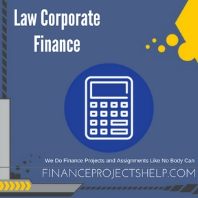 Law Corporate Finance Assignment Help