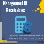 Management Of Receivables