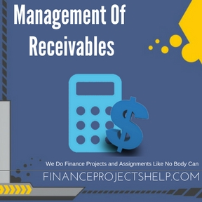 Management Of Receivables Project Help