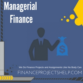 Managerial Finance Assignment Help