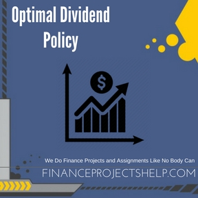 Optimal Dividend Policy Project Help