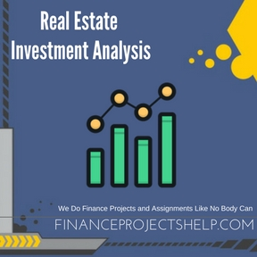 Real Estate Investment Analysis Project Help
