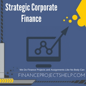 Strategic Corporate Finance Assignment Help