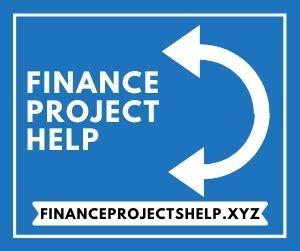 Finance Project Help
